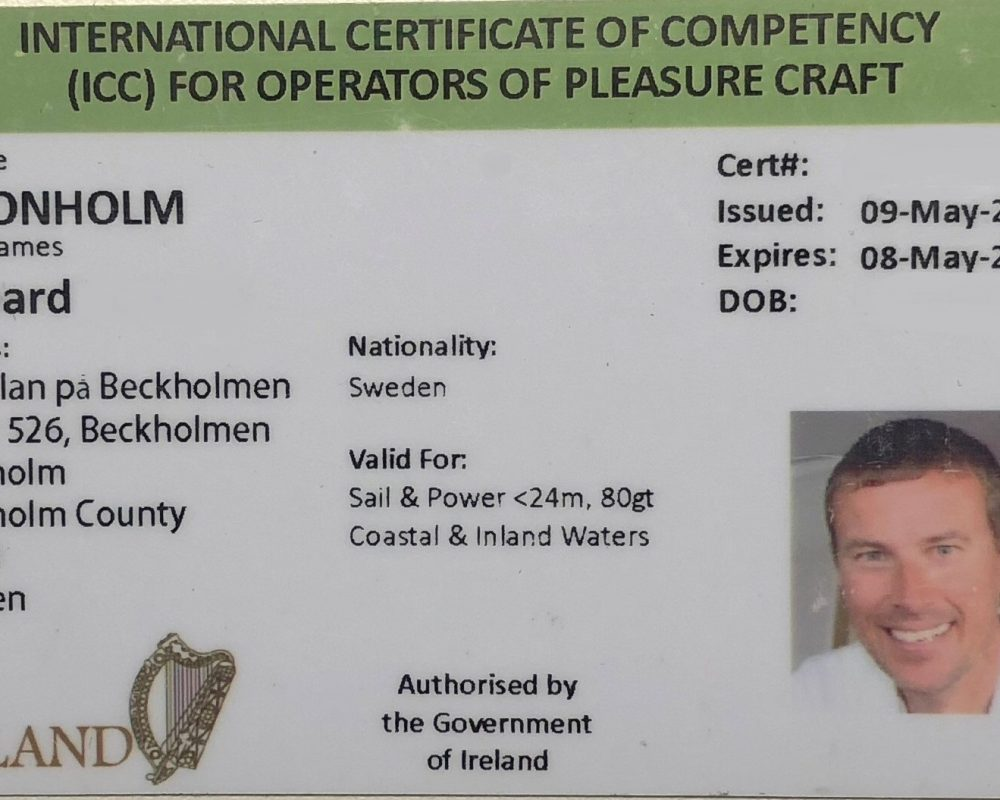 ICC - International Certificate of Competency